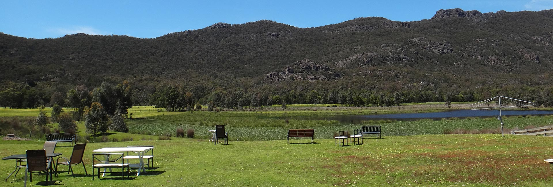 Halls Gap Motel view