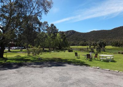 Halls Gap Motel back view