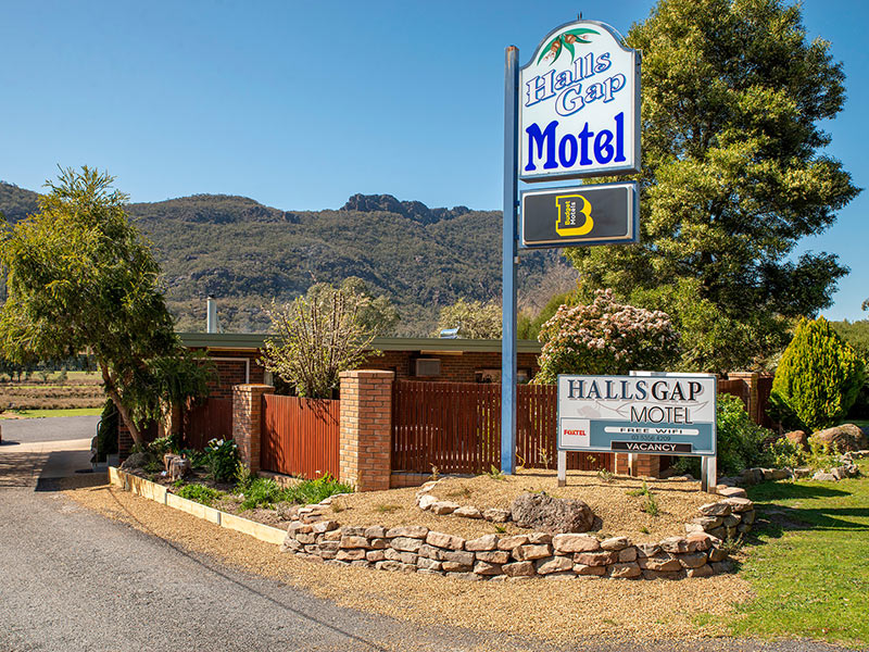 Halls Gap Motel: Front View