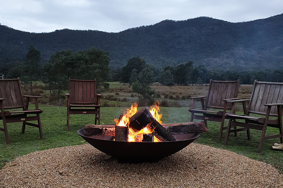 Free Fire Pit (weather permitting)